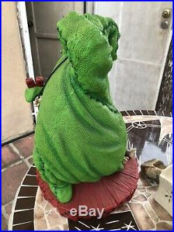 Disney Oogie Boogie Big Fig Statue RARE
