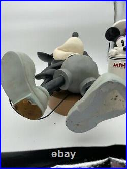 Disney RARE Steamboat Willie Big Fig Mickey Mouse on base
