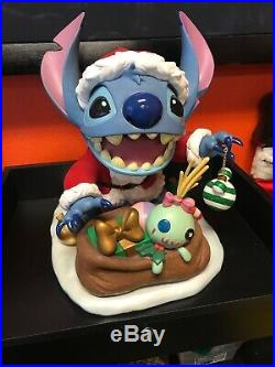 Disney Santa Stitch Big Fig Limited Edition Rare