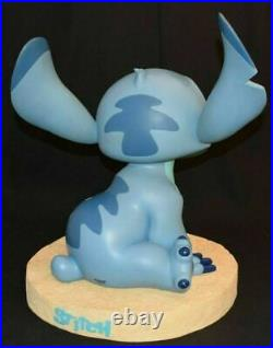 Disney Stitch Beach Sitting Big Figure Opening mouth Vintage rare from Japan