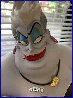 Disney Ursula Big Fig Figure Statue Rare