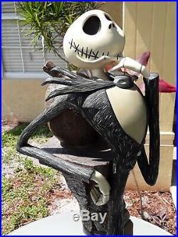 Disney's Nightmare Before Christmas Jack Skellington Big Fig Statue RARE