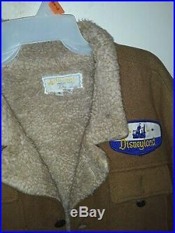 Disneyland Rare Big Thunder Mountain Ride Cast Member Uniform Coat Vintage