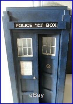 Doctor Who CUSTOM BRACHAKI HARTNELL 1/6 TARDIS Police Box, BIG RARE COOL CHIEF