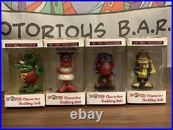 Ed Roth Rat Fink Big Daddy Character Nodding Doll Set of 4pcs Rare