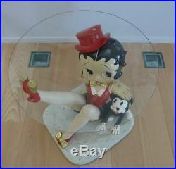 Extremely Rare! Betty Boop with Pudgy Big Figurine Table Statue