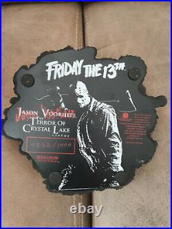 Extremely Rare! Friday The 13th Jason Voorhees Crystal Lake Big Figurine Statue