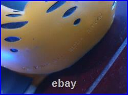Extremely Rare! Garfield Standing Holding Alarm Clock Old Big Figurine Statue
