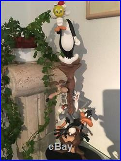 Extremely Rare! Looney Tunes Leblon-Delienne Totem LE of 777 Big Figurine Statue