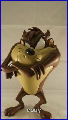 Extremely Rare! Looney Tunes Tasmanian Devil Taz Standing Big Figurine Statue