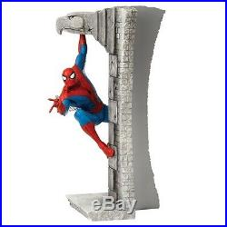 Extremely Rare! Spiderman Jumping Walls LE of 500 Big Figurine Statue
