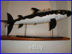 Extremely Rare! Tintin The Shark Submarine Big Figurine Statue LE of 7000