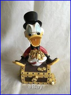 Extremely Rare! Walt Disney Donald Duck Scrooge McDuck Big Fig Figurine Statue