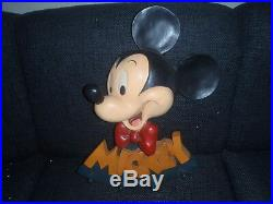 Extremely Rare! Walt Disney Mickey Mouse Big Polyester 3D Clothes Hanger Statue