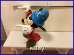 Extremely Rare! Walt Disney Mickey Mouse Fantasia Big Figurine Statue