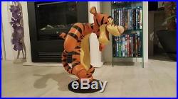 Extremely Rare! Walt Disney Winnie The Pooh Tigger Dancing Big Figurine Statue