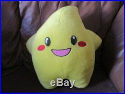 Extremely rare BIG THE LEGENDARY STARFY Plush Tomy Nintendo Japan Used