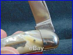 FABYAN KNIFE CO NY BIG WHARNCLIFFE WHITTLER MADE ONLY 1 YEAR c1889 RARE