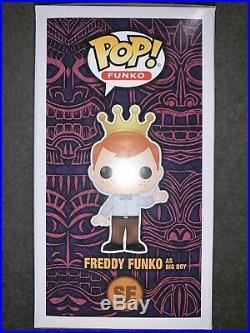 Funko Fundays 2019 SDCC Pop AD Icons Freddy Funko As Big Boy BLUE RARE LE24