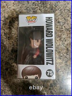 Funko Pop! Big Bang Theory Howard Wolowitz (Star Trek) #75 Rare WithPop Protector