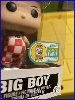 Funko Pop Bobs Big Boy SDCC 2016 Exclusive LE 480 Vaulted & Retired Rare Vinyl