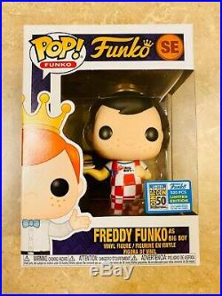Funko Pop! Freddy Funko Freddy Funko as Big Boy 2019 SDCC LE520 Rare Fundays
