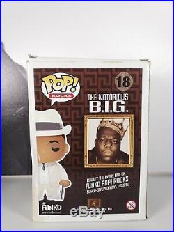 Funko Pop! Notorious BIG #18 White Suit Retired RARE