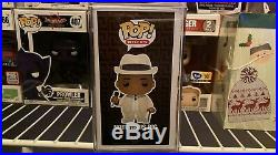 Funko Pop! Rare White Suite The Notorious B. I. G. Vaulted Plus Hard Case