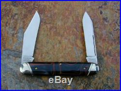Great Eastern Gec Northfield Lava Acrylic Big Jack Knife Rare 1/47 Mit 541214m