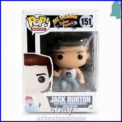 Jack Burton Funko Pop Big Trouble in Little China Rare Vaulted Pop Vinyl Figure