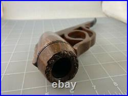 Judd's UNSMOKED RARE 1 of a Kind BIG Comoy's Olympic Straight Grain Pipe UNIQUE