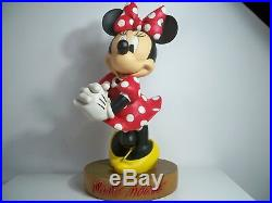 K1805952 MINNIE MOUSE BIG FIGS With BOX DISNEY 22 TALL COMPLETE ORIGINAL RARE