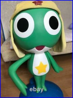 Keroro Gunsou Figure Figurine Japan Anime Life Size Doll Big Rare Pedestal Set