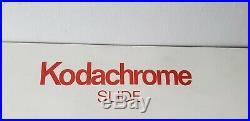 Kodachrome Slide Rare 22x22 Mirror Think Big USA