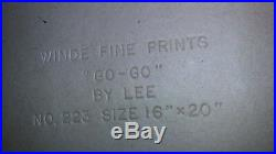 LEE PRINT Art GO GO Vintage RETRO 1960's BIG EYE EYED GIRL & BOY VERY RARE Mint