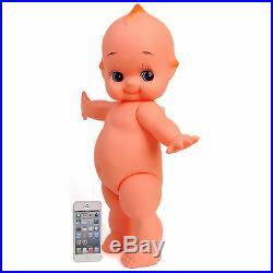 Large Kewpie Doll Baby Cupie Vintage Cameo Figurine Rubber Ornament Japan Toy 21