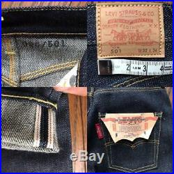Levi's LVC 66501 Miniature 501 BIG E Denim Pants Limited edition DEAD STOCK Rare