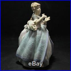 Lladro Porcelain Figurine Southern Charm #5700 Big Dresses Rare AS IS