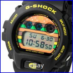 McDonald's G-SHOCK DW-6900FS wrist watch BIG MAC 50th Collectible LTD Japan RARE