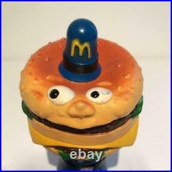 Mcdonald Big Mac Police Figurine Figure Decor Rare Soft Vinyl Rare Collectible