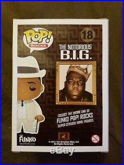 Metallic Notorious B. I. G Pop Rocks SDCC 2011 Limited 240 Pieces EXTEREMLY RARE