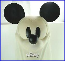 Mickey Mouse Light Up RARE Big Statue Halloween Ghost Disney 30 Free Shipping