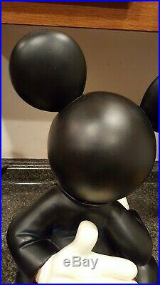 Mickey Mouse Tuxedo Fab 5 Disney Big Fig Disneyland World Figure Rare w Base 22
