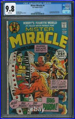 Mister Miracle #4 CGC 9.8 White Pages 1st Big Barda Rare