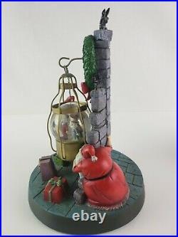 Nightmare Before Christmas Jack Skellington Santa Big Globe RARE Touchstone