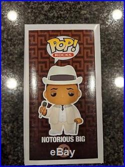Notorious B. I. G Vaulted Rare Funko Pop #18 with a Hard Case included