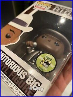 Notorious BIG metallic sdcc 2011 funko pop Rare