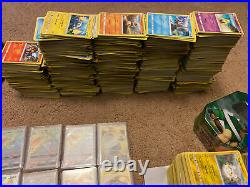 Pokemon Card collection lot. Rainbow Holos BIG COLLECTION Holos/reverse/rares