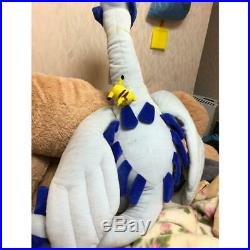 Pokemon Lugia Pikachu Big Size Plush Doll Tomy Very Rare used