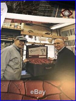 R. W. Loveless Knife Maker Integral Big Bear Stag Portrait Logo-rare! Book Knife